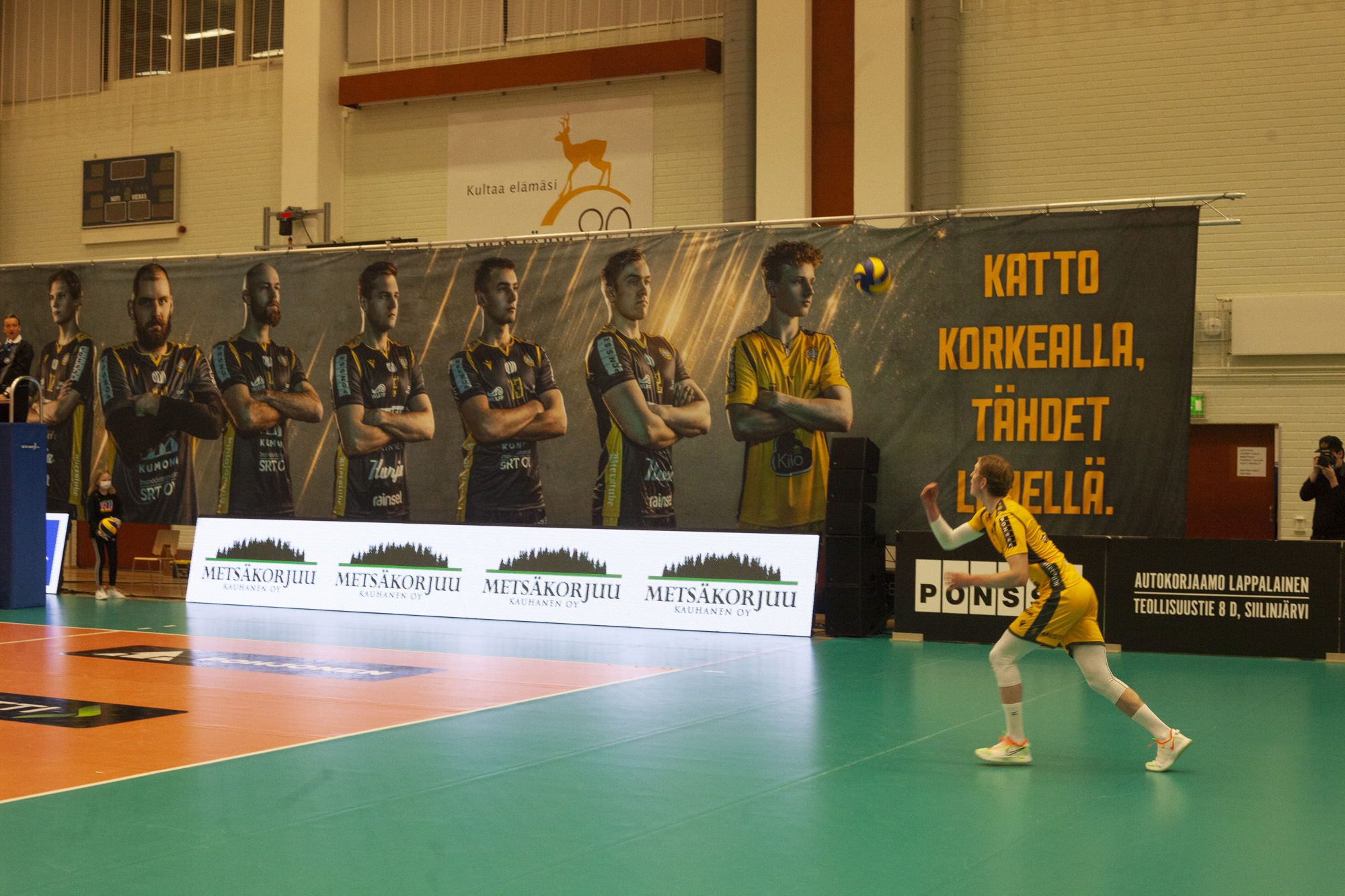 Akaa-Volley - Savo Volley -ottelu on siirretty