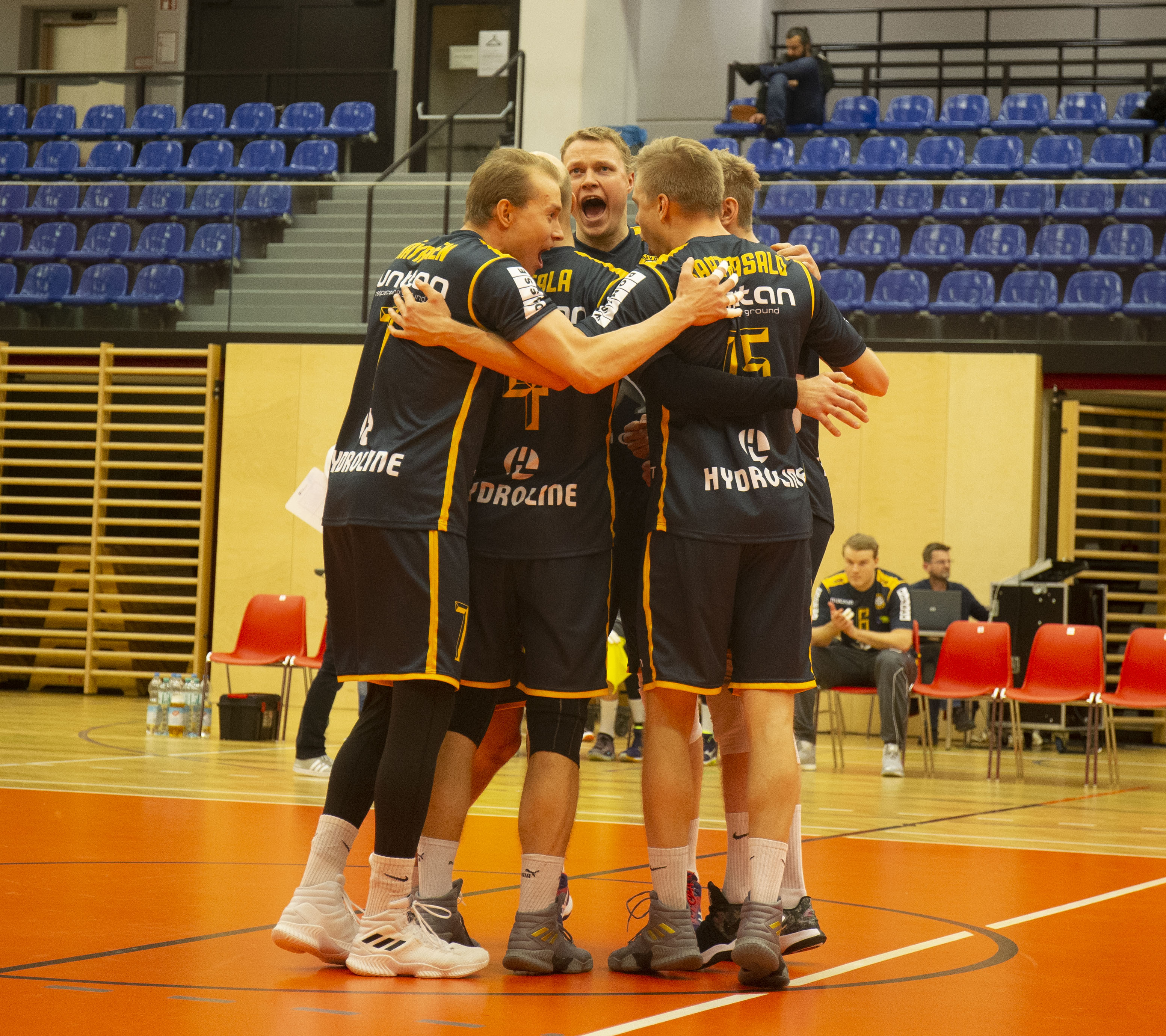 Seuraava eurovastus on slovenialainen Calcit Volley Kamnik